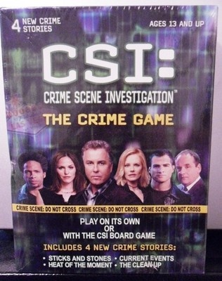 87 best csicrime scene investigation images on pinterest crime new sealed csi crime scene investigation the crime game 4 new crime stories ebay fandeluxe Document