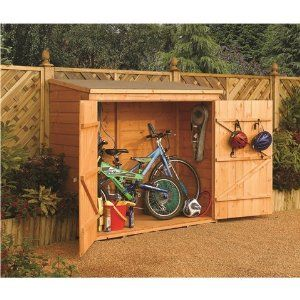 how to make a small bicycle shed - Google Search