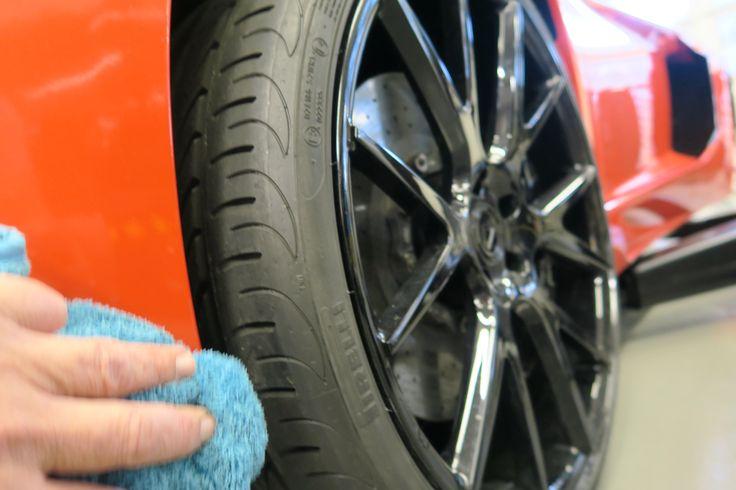 Es muss nicht zwingend ein Aventador sein. www.avp-autopflege.ch