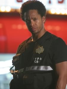 Warrick Brown (CSI): It was a pity to lose him. :(