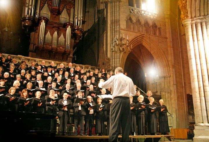 "Fantastic news!    The retiring collection from the Exeter Philharmonic Choir's two Carol Concerts raised a grand total of 2786 over the two evenings!!    Thank you so much to all who donated. What a fantastic Christmas present."" Great news!"