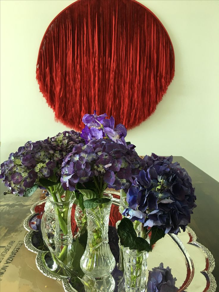 This is what happens when you mix red and purple- flowers