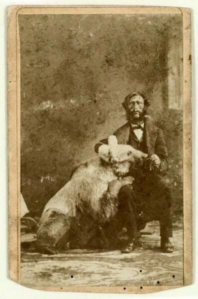 """John """"Grizzly"""" Adams 1856- thought to be the only image of this legendary man"""