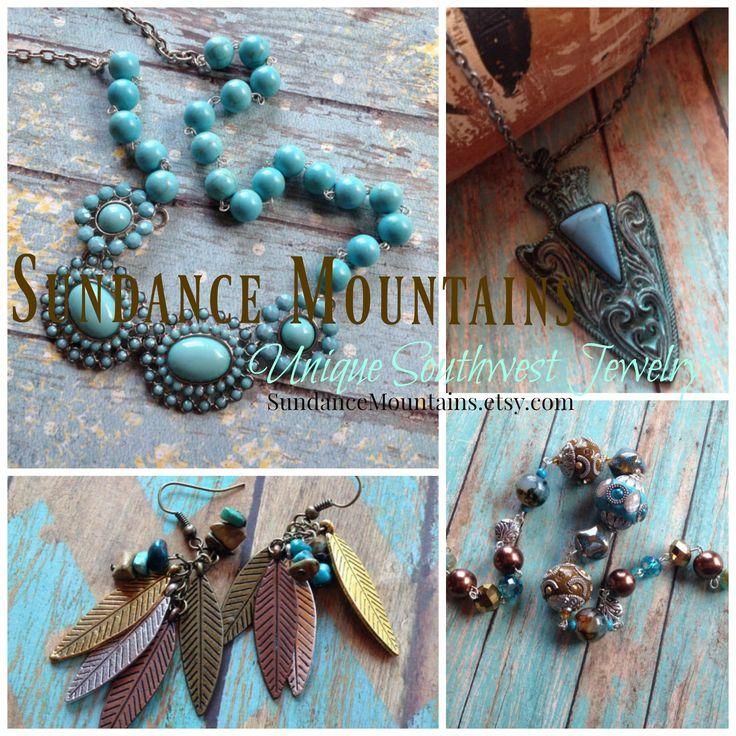 #sundancemountains#etsy.com #southwest #jewelry #bohocollections