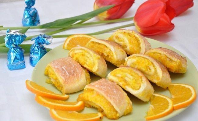 Перед таким десертом не устоять... Апельсиновое печенье