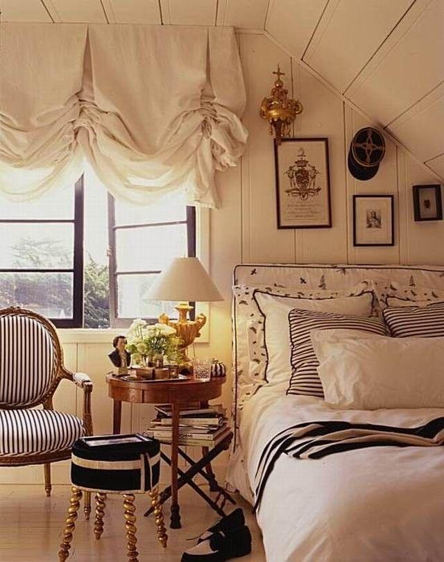 Nautical Bedroom, Trendy Bedroom, Cozy Bedroom, Bedroom Ideas, Bedroom Romantic, Bedroom Pictures, Attic Renovation, Attic Remodel, Small Master Bedroom
