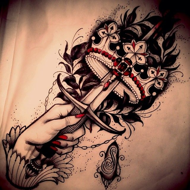 Pin by felipe andrade on tattoo bodypainting pinterest for Sword tattoos tumblr