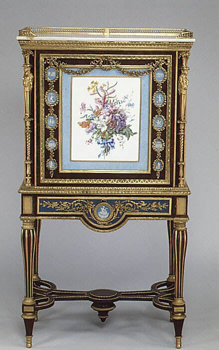 1787 French Secrétaire at the Metropolitan Museum of Art, New York