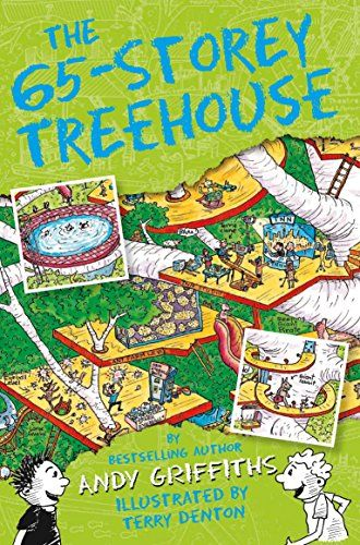 The 65-Storey Treehouse (The Treehouse Books) by Andy Gri...