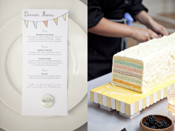 love this cake - easy to serve