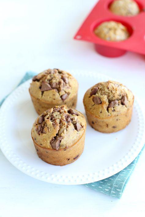 Chocolade-koffie muffins