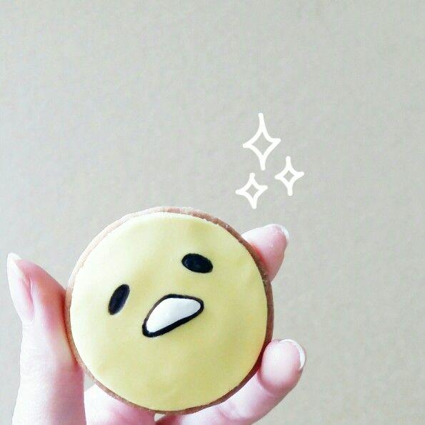 Gudetama cookie!   Instagram : qmjft