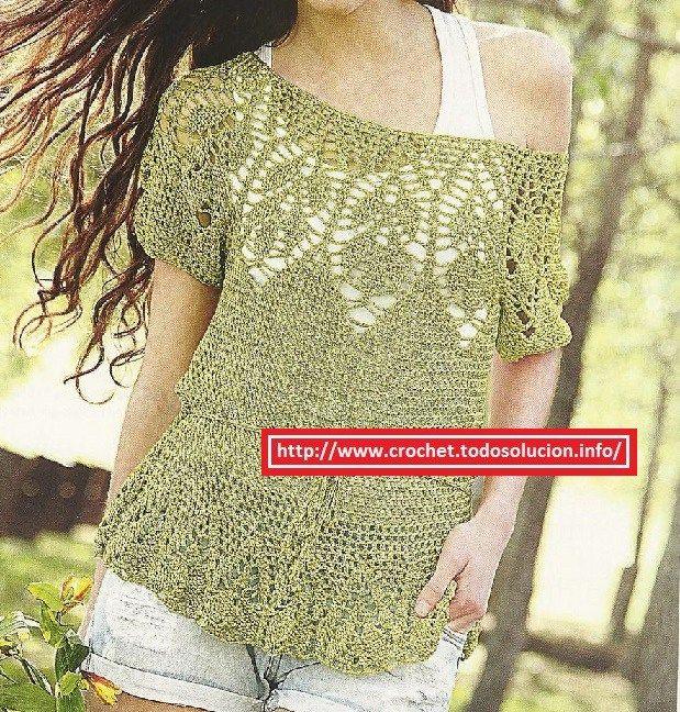 Remera crochet verde Remera-crochet-verde Remera-crochet-verde