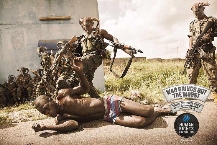 Human Rights Foundation: War shows the worse side of life, Africa