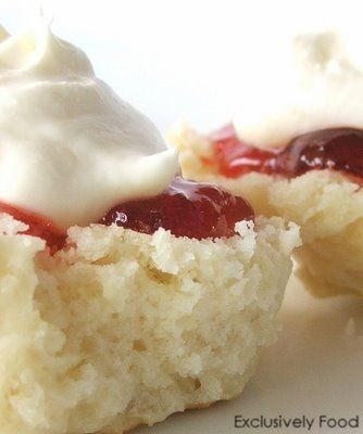 Exclusively Food: Lemonade Scone Recipe