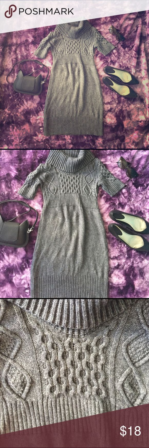 Ann Loft Petite Sweater Dress Measurements to come! Medium petite. Cowl neck. LOFT Dresses Mini