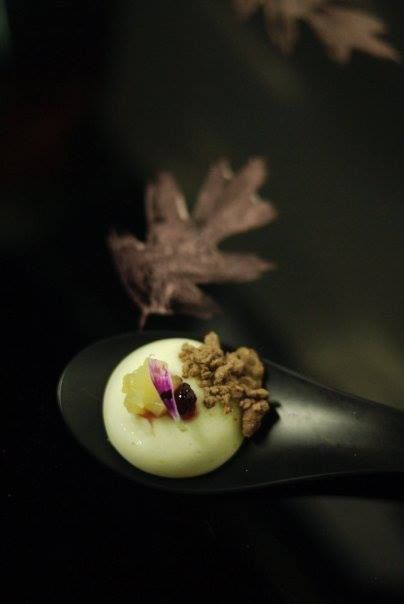 Apple Cloud. Isomalt. - Created for the Louis Vuitton Spring Summer Collection Event. #food #chef #dessert