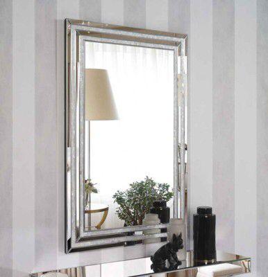 Speil modell NACAR. #speil #sølv #krystall #design #interior # ...
