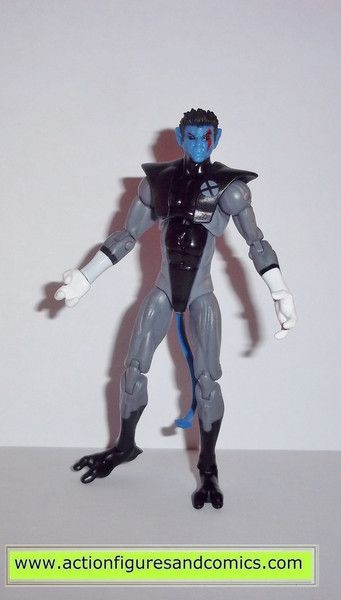 Hasbro toys action figures for sale to buy MARVEL UNIVERSE M 2013 x-force suit, NIGHTCRAWLER 100% COMPLETE condition: Overall excellent - collector owned figure