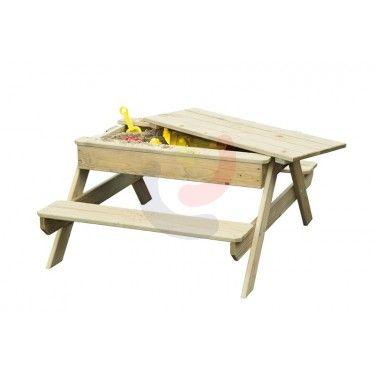 Kinder combi zandbak tafel Rosy Park