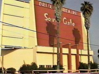 I saw Star Wars and Jaws here. This was my hometown of South Gate, California off of Firestone boulevard.