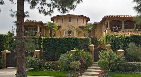 old movie star homes one of the private homes seen on a