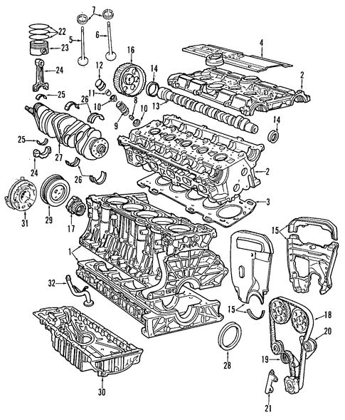 Engine  Engine For 1997 Volvo 850  1