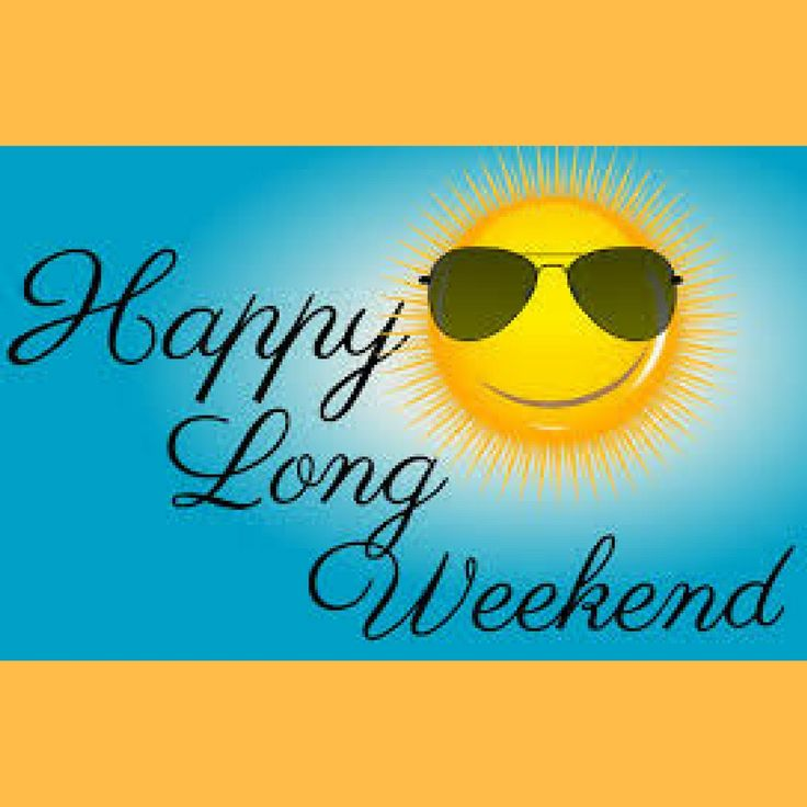 Have a safe and happy long weekend! #memorialday #memorialdat2017 #longweekend #weekend