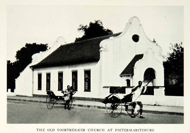 1931 Print Old Voortrekker Church Pietermaritzburg South Africa Rickshaw NGM7 - Original Halftone Print at Amazon's Entertainment Collectibles Store