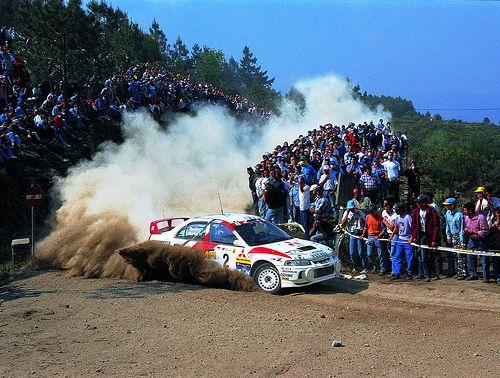 Mitsubishi Lancer Evo 4 of Richard Burns at 1998 Rally Portugal_2