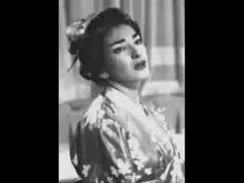 Maria Callas - Madame Butterfly - Tu Tu Piccolo Iddio! - YouTube...perhaps the ultimate song of distress and woe.