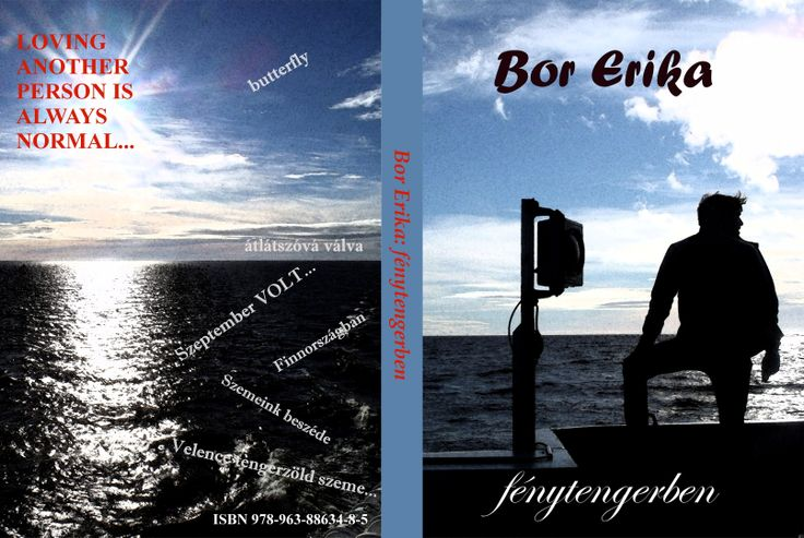 Bor Erika: Fénytengerben (könyvborító)