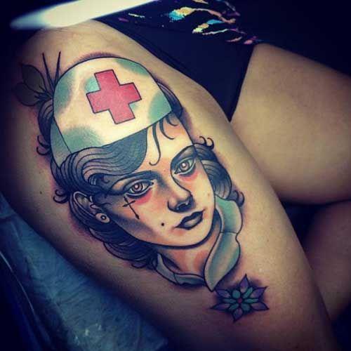 15 Tatuajes de Enfermería Inspiración Para Enfermeras - http://tatuajeclub.com/2016/06/05/15-tatuajes-de-enfermeria-inspiracion-para-enfermeras.html