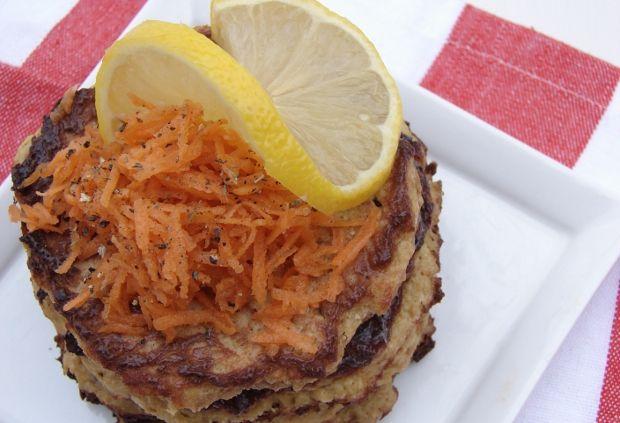 salmon and acorn squash cakes