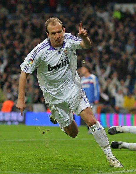 Arjen Robben Photos: Real Madrid v Getafe - La Liga