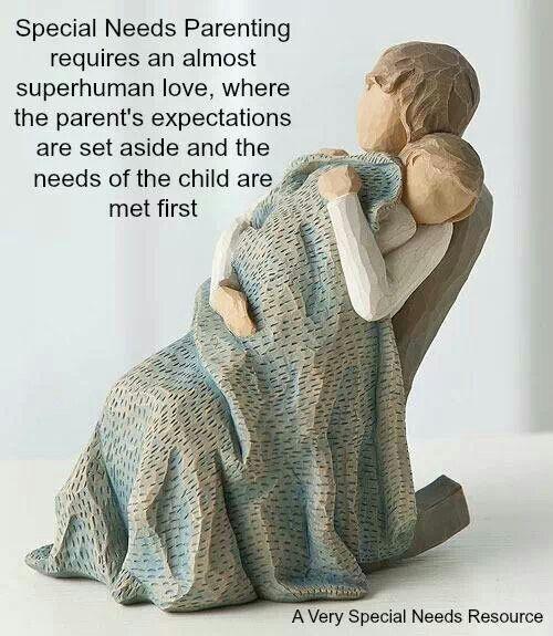 Special needs parenting