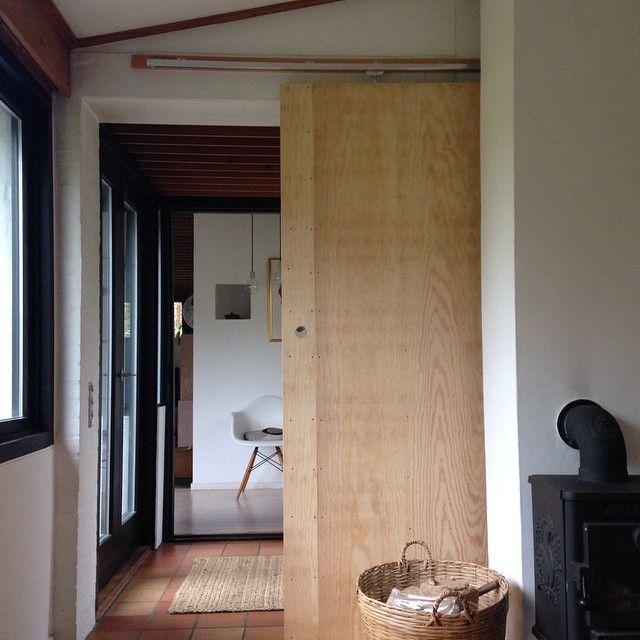 #ourhome #danish #design #sliding door #DIY