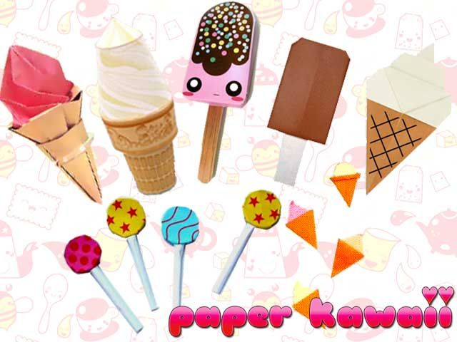 DIY Templates Tutorial Free Printables Ice Cream Paper Craft Splendidly Fun Curtiss Halloween Candy Ad From The Early Love Little G