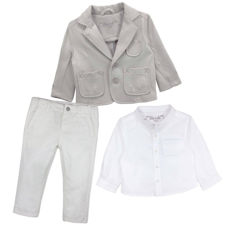 Baby Boy French Designer Blazer Christening Outfit