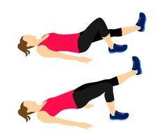 Jeden cvik, kterým zvednete zadeček, zeštíhlíte stehna a zpevníte bříško   Blog   Online Fitness - živé fitness lekce, cvičení doma pod vedením trenérů