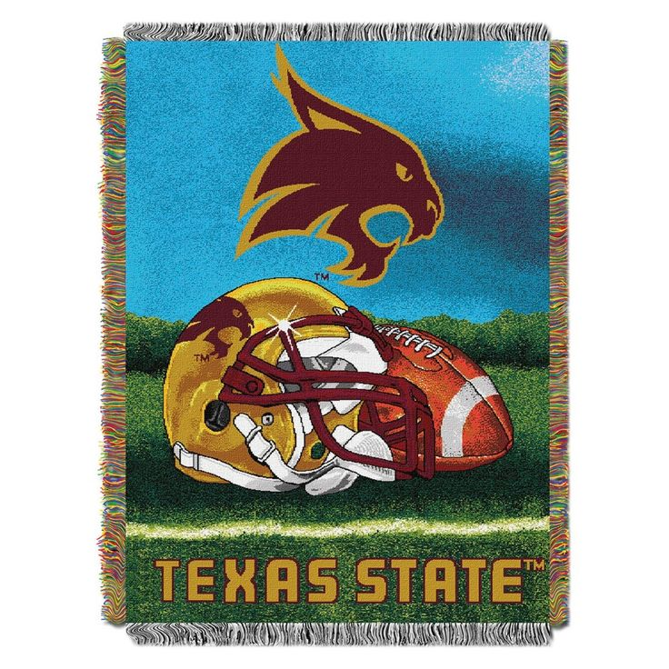 NCAA Northwest Tapestry Throw Blanket Texas State Bobcats - 48 x 60