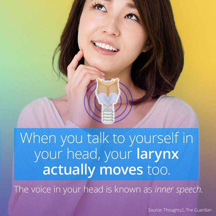 What Is The Little Voice In Your Head?