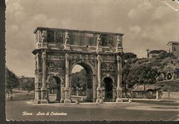 k2. Italy Roma Arco di Costantino Arc of Costantine Costantin Der Costantinosbogen posted photo postcard | For sale on Delcampe