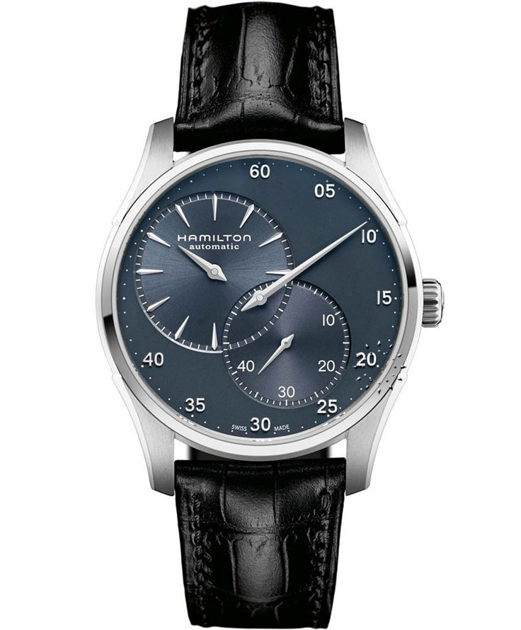 HAMILTON Jazzmaster Automatic Black Leather Strap Μοντέλο: H42615743 Η τιμή μας: 896€ http://www.oroloi.gr/product_info.php?products_id=36925