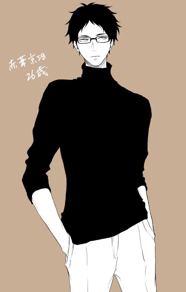 Akaashi Keiji | 黒タートル眼鏡葦(26)の破壊力∞∞∞∞∞