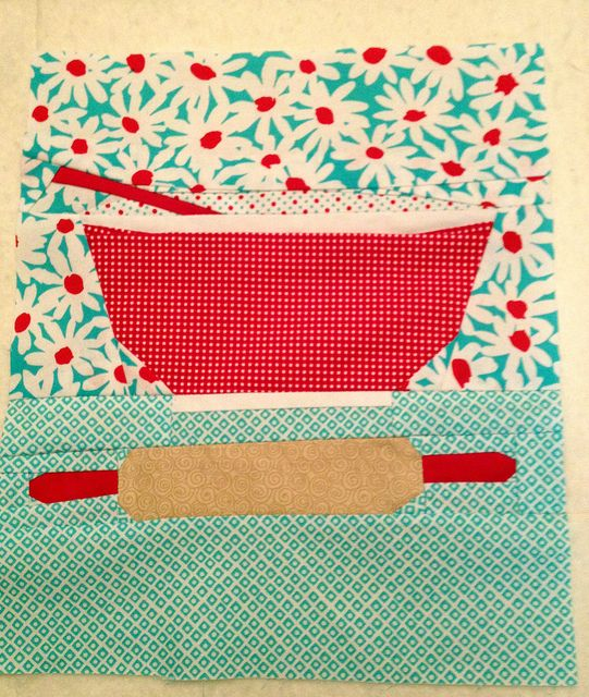 Sew Retro 2 Mixing Bowl pattern testing for Kristy at Quiet Play