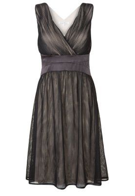Cocktailkleid / festliches Kleid - taupe/black