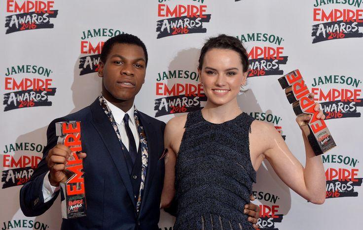 Daisy Ridley and John Boyega Reunite For Star Wars Celebrations at the Empire Film Awards