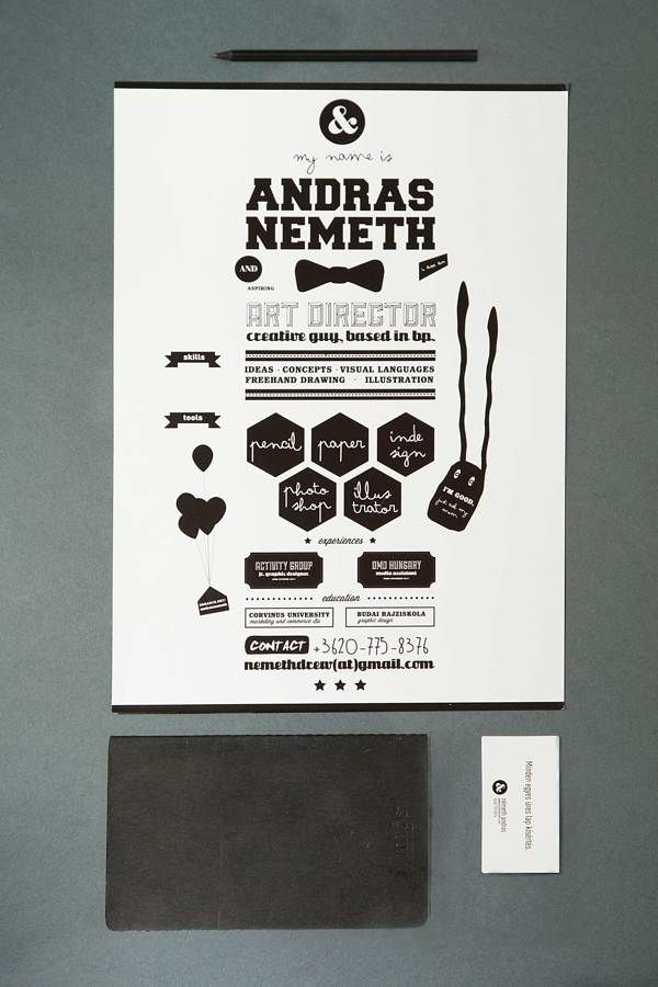 art directorgraphic designer CV by Andrs Nmeth