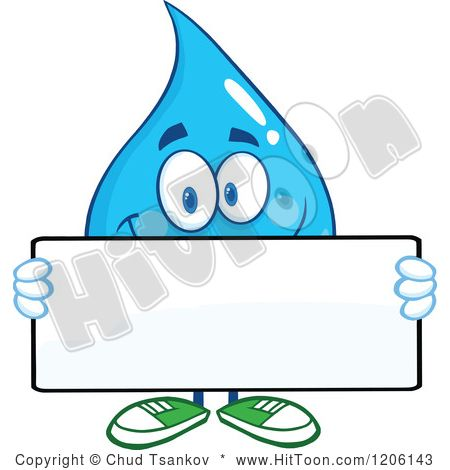 Water Drops Clipart Water drop clipart